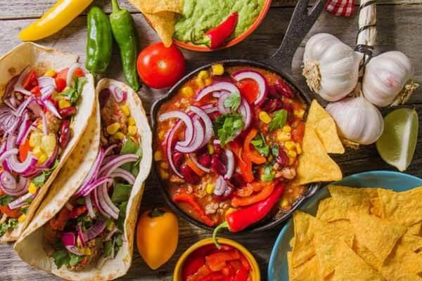 Platillos típicos de Puebla