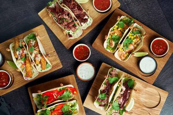 Comidas mexicanas.